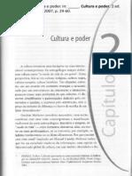 MARTINS, E. Cultura e poder - capítulo II