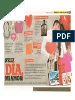Clientes en revista Mujer Actual - Febrero San Valentín
