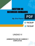 3. Administración del cambio, Selección y Capacitación