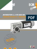 ECM Permanent Magnets DC Wormgearmotors 120724