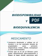 BIODISPONIBILIDAD Y BIOEQUIVALENCIA[1]