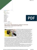 Raccolta differenziata - codice fiscale per sconti tares