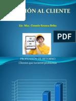 PPT Atención al cliente