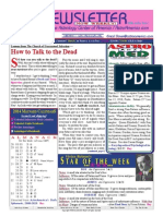 ASTROAMERICA NEWSLETTER DATED JANUARY 28, 2014