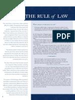 Rule of Law.