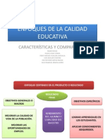 Enfoques de La Calidad Educativa