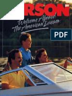 1989 Larson Boats Brochure