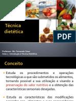 Introdução a tecnica dietetica