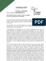 6003768 Politica Cultural Gestion Identidad y Desarrollo