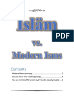 Islam vs Modern Isms