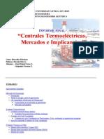 Centrales Termoeléctricas, Mercados e Implicancias