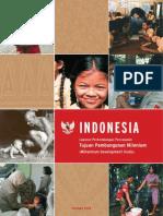 IndonesiaMDG BI Cover