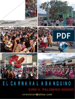 EL CARNAVAL ABANQUINO - Ciro Palomino Dongo