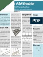 Raft Foundation Design - Poster 1