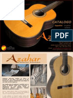 Azahar Guitars Catalogue