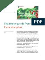 Una mujer que da frutó es disciplinada .pdf
