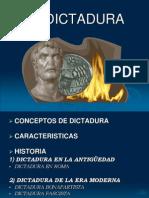La Dictadura Alemana Antigua