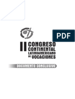 Doc Final - II Congreso de Vocaciones