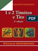 William Hendriksen - 1Ttimóteo 2 Timóteo e Tito