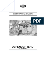 Defender MY12 Electric Wiring Diagrams