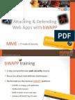 Bwapp Training