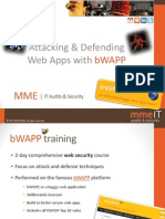 Bwapp Training