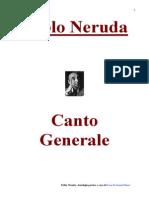 Pablo Neruda - Canto Generale