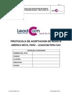 ATP - Protocolo de Aceptación UMTS NodeB DBS3900 Huawei-ATP_Rev  N
