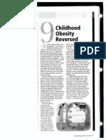 child obesity reversed article
