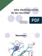 Propiedades de neuronas