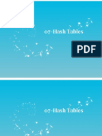 07 Hash Tables