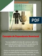 Dependencia Emocional Psicopatologia Escolarizado