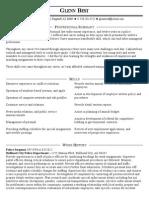 glenn best resume 1