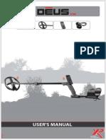 XP Deus V3.0 - User Manual UK