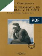 Curso de filosofía en seis horas y cuarto - Witold Gombrowicz