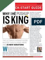 Men's Health Pushup Guide