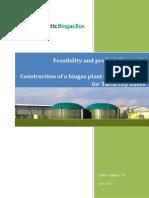 Feasibility Study of Biogas Plant (Tartu)