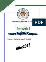 Portugues 1 Modulo 2013