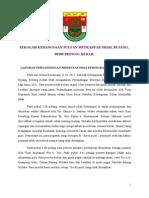 Laporan Pertandingan Merentas Desa Peringkat Sekolah 2012