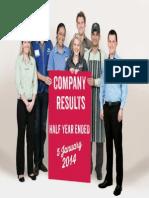 WOW FY14 Half Year Profit Analyst Presentation