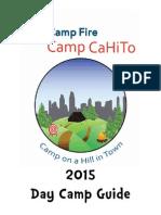 Camp CaHiTo Parent Guide Book 2014