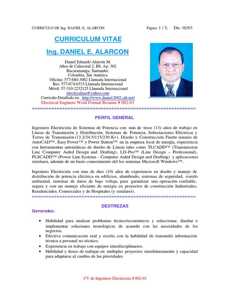 Bonito Currículum De Ingeniero De Soporte De Escritorio Para Más ...
