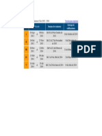 Calendario de Exámenes Ciclo 2013