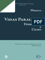 Plutarco Vidas Demostenes Cicero