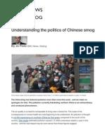 China Smog Crisis