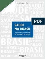 MINISTÉRIO DA SAÚDE (prioridades de pesquisa em saúde)