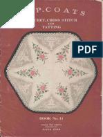 Crochet, Cross Stitch & Tatting, book 14 by Anne Orr