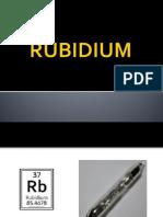 Rubidium - Chem2