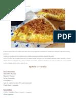 Tarta de Choclo y Calabaza