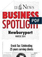 Business Spotlight Winter 2014